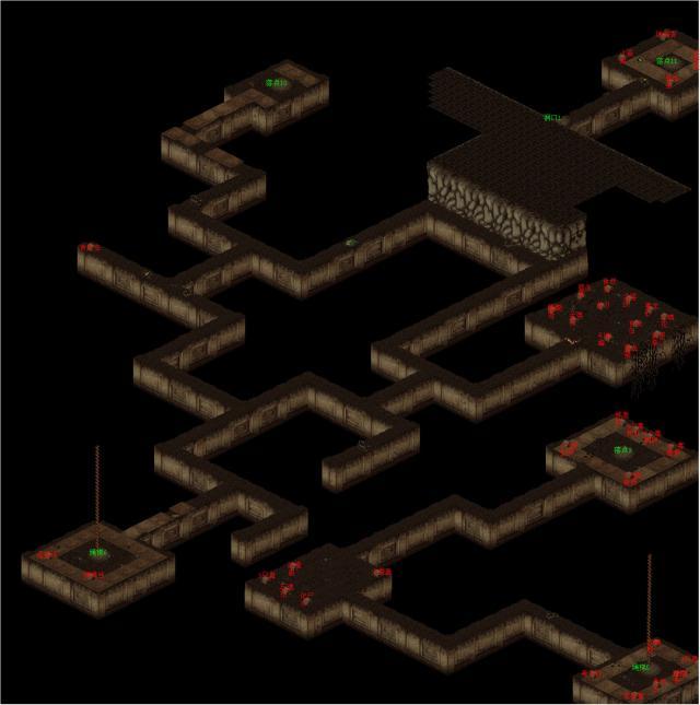 《仙剑奇侠传》迷宫地图
